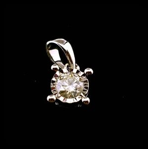 Jewelry - Classic Diamond Solitaire Pendant
